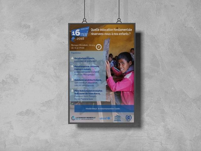 Conception - Support Education à Madagascar